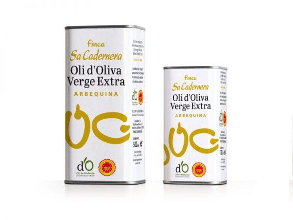 Aceite de Oliva Virgen Extra, Arberquina, 500 ml. Lata- Sa Cardenera