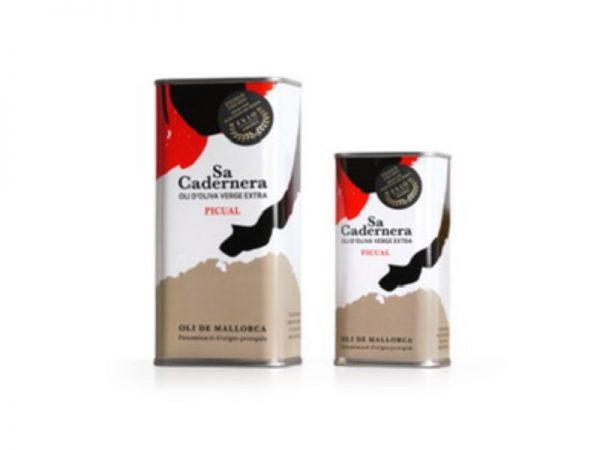Aceite de Oliva Virgen Extra, Lata Limitada 500 ml. Botella - Sa Cardenera