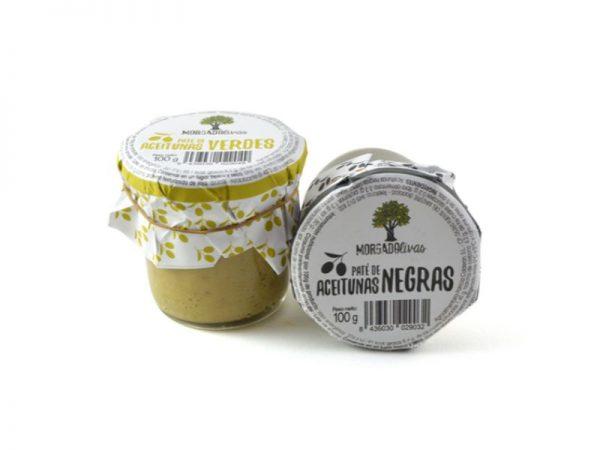 Paté de Aceitunas Verdes, 100 gr. - Morgadolivas - Pack - 12 Unidades