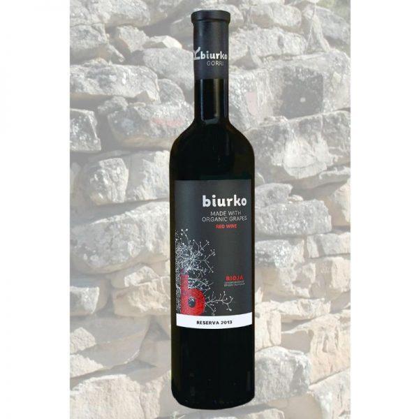 Vino Tinto Reserva - Rioja Ecologico - Biurko