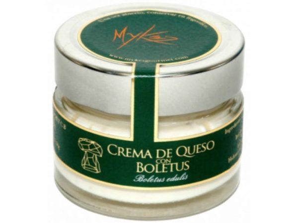 Crema de Queso con Boletus
