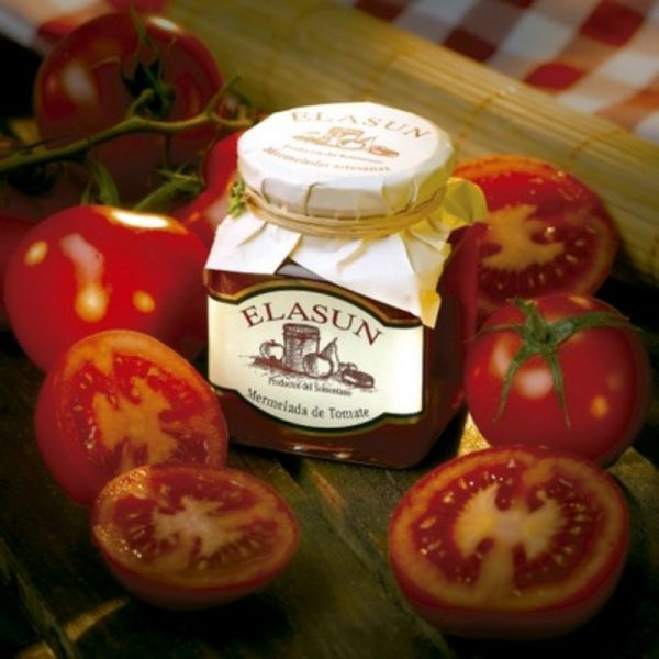 Mermelada Artesana de Tomate, 350 gr.- Elasun - 6 Unidades