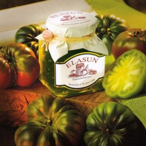 Mermelada Artesana de Tomate Verde, 350 gr.- Elasun - 6 Unidades